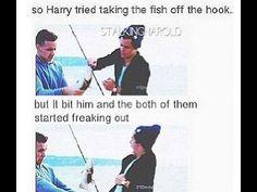 Oh the boys, so silly.