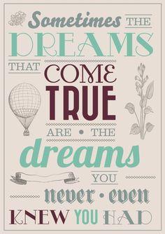 Dream dream dream...