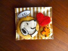 peanuts cookies!