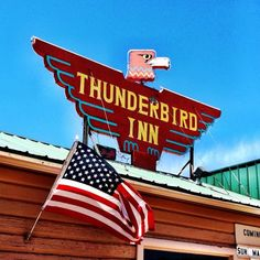 Vintage Signs For Sale, Vintage Metal Signs, Thunderbird Lodge, Custom Metal Signs, Marquee Sign, Bridesmaid Inspiration, Garage Art, Logo Sign, Roadside Attractions