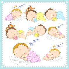 Cartoon Baby, Children, Kids 09 Vector EPS Free Download, Logo, Icons, Brand Emblems