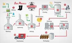 process of brewing in pictures - Google Search