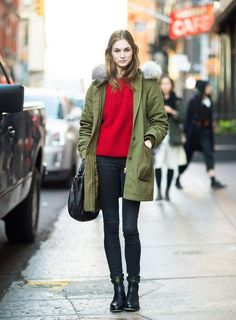 Proof that a parka can be super stylish - see 20 winter looks we love