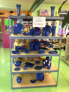 Lapis is here and it has been very well received. This is going to be a favorite Fiestaware color to many!! #fiestaware #cantondishbarn cantondishbarn.com