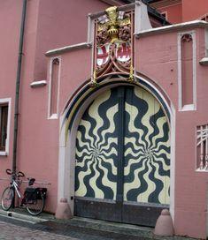 Crazy Door Freiburg Germany from www.europeantravelista.com