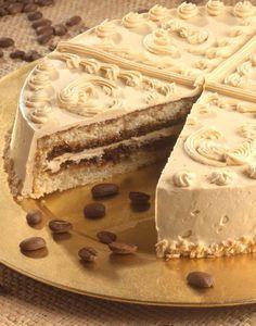 Tort de cafea - Retete culinare - Romanesti si din Bucataria internationala Romanian Desserts, Romanian Food, Food Cakes, Cupcake Cakes, Good Food, Yummy Food, Something Sweet, Cakes And More, Cake Recipes