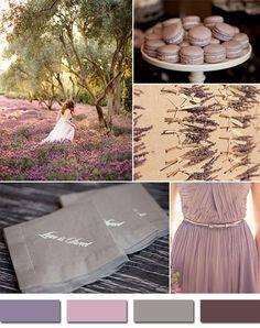 shades of purple mauve inspired elegant fall wedding ideas 2014 #weddingcolors #elegantweddinginvites #fallweddingideas