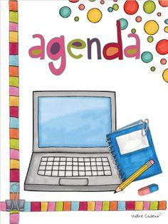Planificateur de classe Vous utilisez mon cahier de planification? Un petit don serait apprécié afin de me permettre de continuer de par...