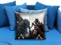 New Rare Assassin Creed 003  These soft pillowcase made of 50% cotton, 50% polyester.  It would be perfect to decorate your home by using our super soft pillow cases on sofa, chair, bench or bed.  Customizable pillow case is both comfortable and durable, improving the quality of your sleep with these comfortable pillow case, take it home now!  Custom Zippered Pillow Cases available in 7 different size (16″x16″, 18″x18″, 20″x20″, 16″x24″, 20″x26″, 20″x30″, 20″x36″)