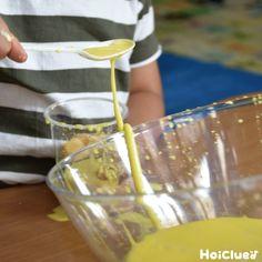 """簡単な片栗粉スライムの作り方〜乳児さんから楽しめる不思議な感触遊び〜   保育や子育てが広がる""""遊び""""と""""学び""""のプラットフォーム[ほいくる] Barware, Tumbler"""