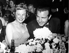 June Allyson with her husband Dick Powell: The Cocoanut Grove