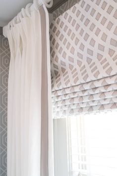 Lot's of window treatment ideas for spring. A new season is the perfect time to dress up your windows with clever upgrades of curtains, shades, blinds and more. - Check Out THE PIC for Various Ideas for Kitchen Window Treatments. Nursery Window Treatments, Valance Window Treatments, Custom Window Treatments, Window Coverings, Window Treatments Living Room Curtains, Living Room Decor Curtains, Bedroom Windows, Living Room Windows, New Living Room