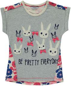 Rabbit Floral T-Shirt on shopstyle.co.uk