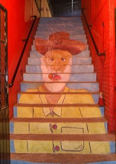 Urban Art on a Staircase in Mexico / Mexico Cooks!
