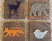Elephant String Art by nidification on Etsy