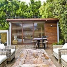 kithaus backyard studio.  Can be customized to include bathroom.  Insulation, etc.