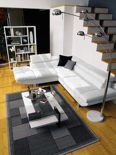 CONFORAMA - Ambiance Loft  #color #home #deco #canapé #sofa