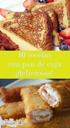 recetas de pan de caja casero | CocinaDelirante