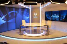 CHAMPIONS League TV Studio /DIGI Slovakia/ by Joseph Tucny, via Behance Bratislava Slovakia, Champions League, Portfolio Design, Joseph, Designers, Behance, Studio, Tv, Portfolio Design Layouts