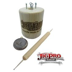 Jig Pro Shop Paracord Essentials Tool Kit Lacing FID, Smoothing Tool, Tucking Tool