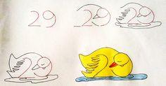 Dibujar con los numeros Es tan sencillo que todo el mundo puede hacerlo :)
