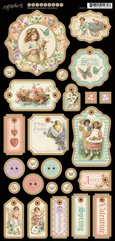 Graphic 45  SWEET SENTIMENTS Collection    by SeptemberPlayground, $5.41