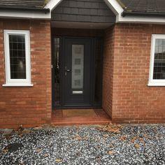 Rockdoor Vogue Cube in Anthracite Grey #Rockdoor #verysecuredoors #rockdoors #compositedoor #door #frontdoor #composite #doors