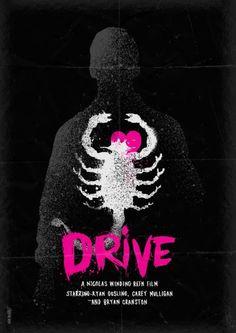Drive (2011)    artwork by Daniel Norris