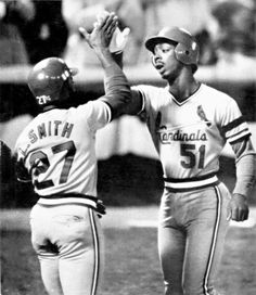 Lonnie Smith and Willie McGee - less than a week until the 2013 season is underway
