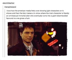 Captain Jack Harkness, Doctor Who/Torchwood Torchwood, Crossover, Nos4a2, Captain Jack Harkness, John Barrowman, Out Of Touch, Fandoms, Don't Blink, Film Serie