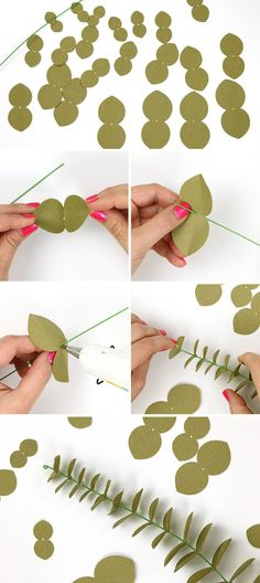 Flower Making: DIY Fall Paper Floral Wreath - Consumer Crafts