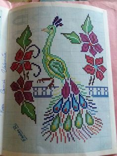 Cross Stitch Sea, Cross Stitch Animals, Cross Stitch Embroidery, Crochet, Pattern, Cross Stitch Samplers, Natural Beauty Tips, Crosses, Seed Stitch