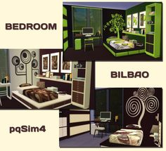 Sims 4 CC's - The Best: Bedroom Set by pqSim4