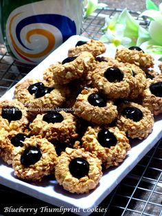 20 Ideas for cookies thumbprint desserts Cookie Recipes From Scratch, Easy Cookie Recipes, Homemade Desserts, Sweet Recipes, Cake Recipes, Cookie Desserts, Ginger Bread Cookies Recipe, Yummy Cookies, Cake Cookies