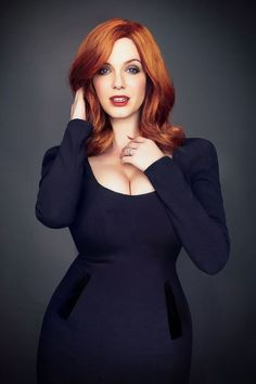 Christina Hendricks, Cristina Hendrix, Gorgeous Women, Beautiful People, Absolutely Gorgeous, Plus Zise, Actrices Sexy, Beauty And Fashion, Hottest Redheads