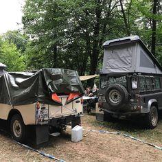 Zurück auf der Camp-Area. Wer noch Aufkleber und Kullis möchte ist herzlich eingeladen uns zu besuchen. Am Ende der Camp-Area direkt an der Saale. #abenteuerallrad #abenteuerallrad2017 #twitter #landrover