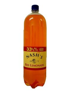 Nash's Red Lemonade - An Irish favorite! Available to buy online at www.theirishshop.co.uk