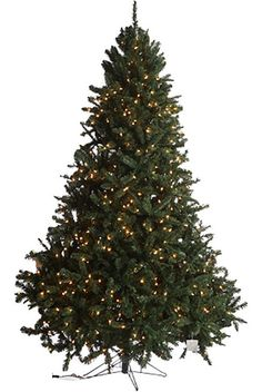 75 thunder bay prelit artificial christmas tree 2141 tips 900 clear lights