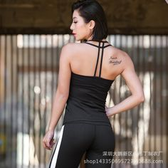We have such a wide variety, so difficult to choose, choose Woman's Tank top ... from Gym Fanatics at http://gymfanatics.co.za/products/womans-tank-top-hollow-out-black?utm_campaign=social_autopilot&utm_source=pin&utm_medium=pin.
