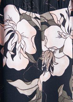 Jumpsuit met bloemetjesprint