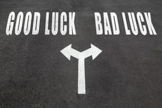 Good luck bad luck sign stock photos, royalty-free images, vectors, video