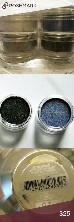 MAC eyeshadow dazzlesphere Dark Moon, White as Snow, Wintry Sky and Silver Sleet  Brand new, never used. Highly pigmented. MAC Cosmetics Makeup Eyeshadow