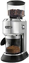 Christmas deals week DeLonghi KG521M Dedica Conical Burr Programmable Coffee Grinder with 14-Cup Grinding Capability - Black Stainless...