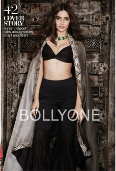 Sonam Kapoor Filmfare Magazine February 2015 Photoshoot