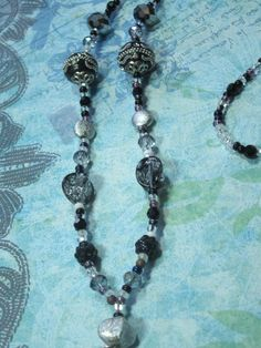 Mystical ID Badge Necklace ID Badge holder by TheBeadBeauty, $24.00
