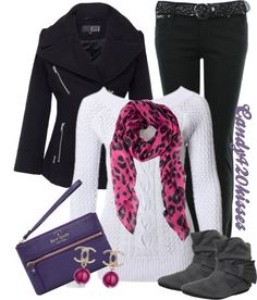 """""""Untitled #564"""" by candy420kisses on Polyvore LOVE THIS SCARF!!!!!!!"""