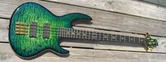 Hand Built Ed Roman Custom Made Basses Examples Of Different Models