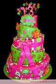 I want this cake for my thirteenth birthday