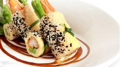 Breaded Prawn Crepe with Tonkatsu Sauce Tonkatsu Sauce, Recipe Details, Prawn, Japanese, Bread, Ethnic Recipes, Food, Japanese Language, Eten
