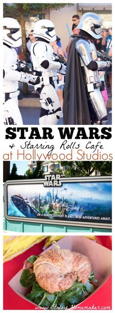 While on vacation in Walt Disney World, we had a surprisingly delicious lunch at Starring Rolls and checked out the new shows and additions of Star Wars at Hollywood Studios. We can't wait to go back to see the completed park!